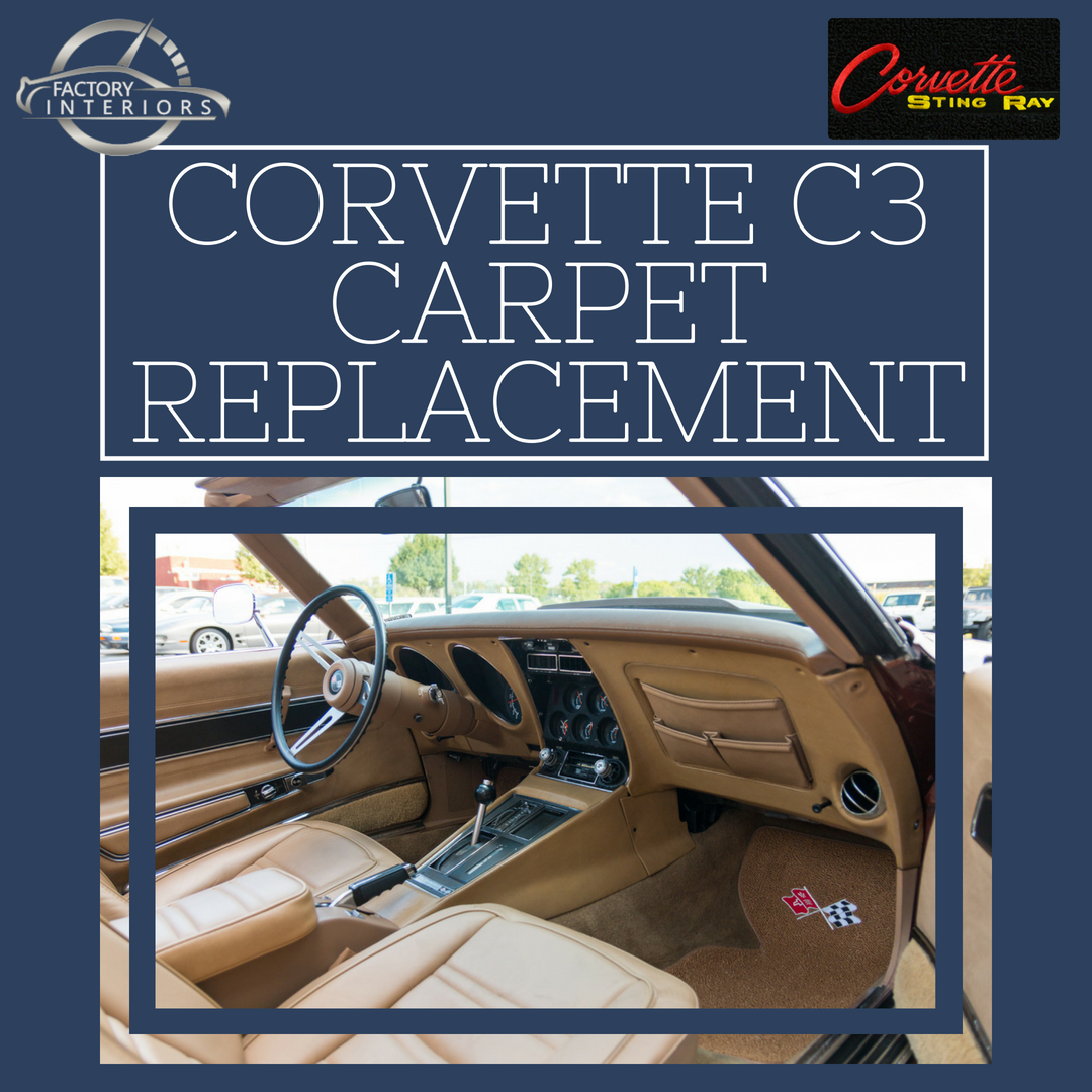 Corvette C3 Carpet Custom Fit 68 82 Corvette Carpet Replacement Factory Interiors