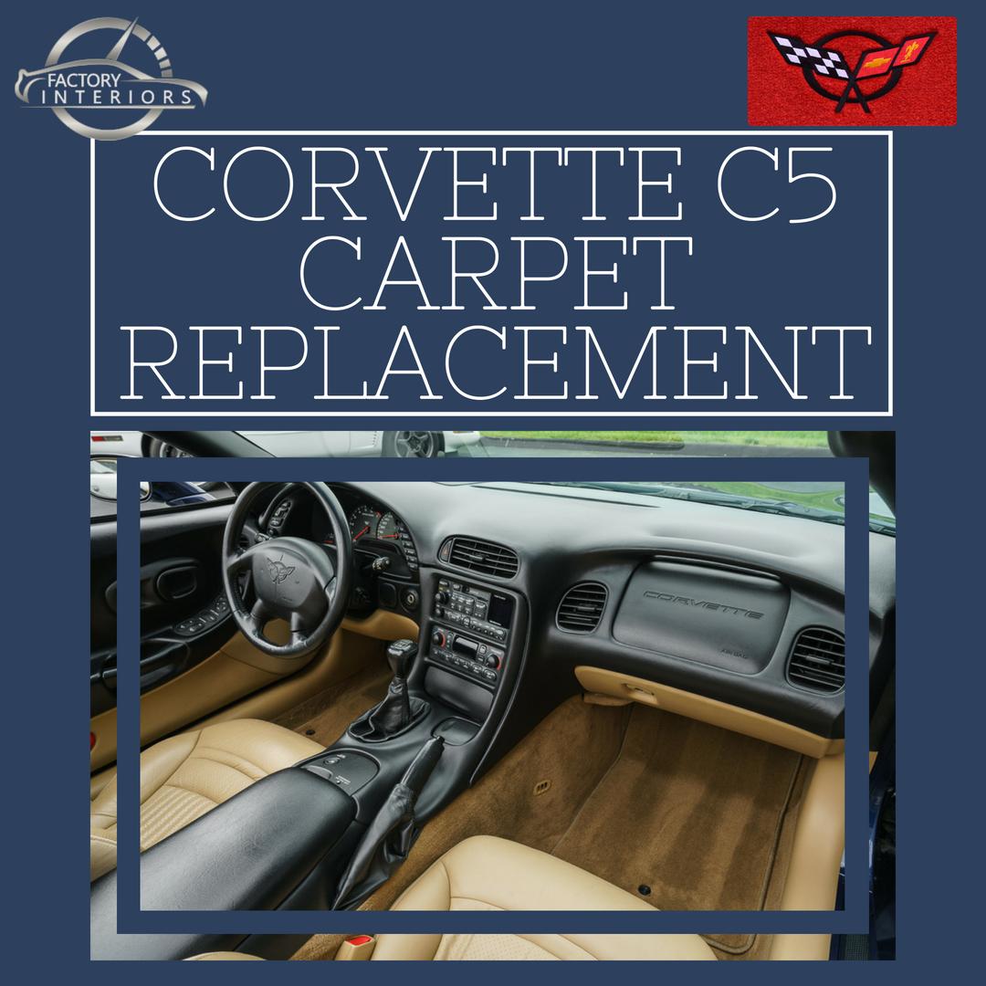 Corvette C5 Carpet Custom 97 04 Corvette Carpet Replacement Factory Interiors