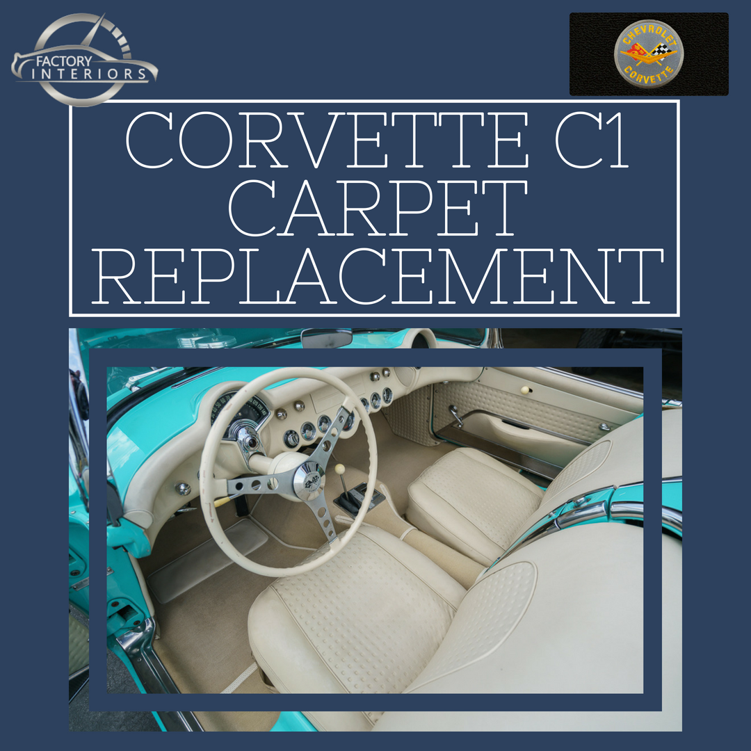 Corvette C1 Carpet - Custom 53-62 Corvette Carpet