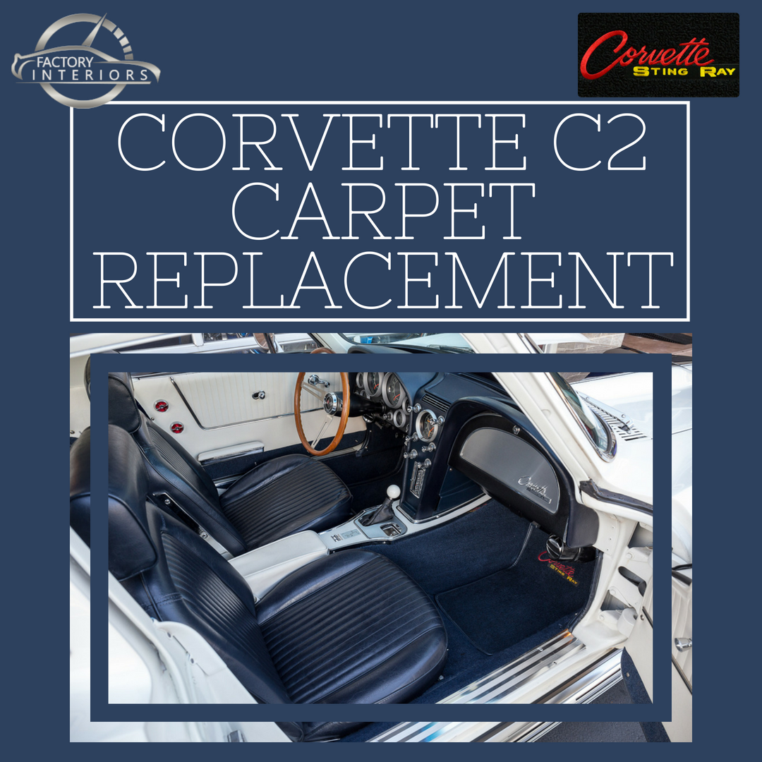 Corvette C2 Carpet Custom 63 67 Corvette Stingray Carpet Replacement Factory Interiors