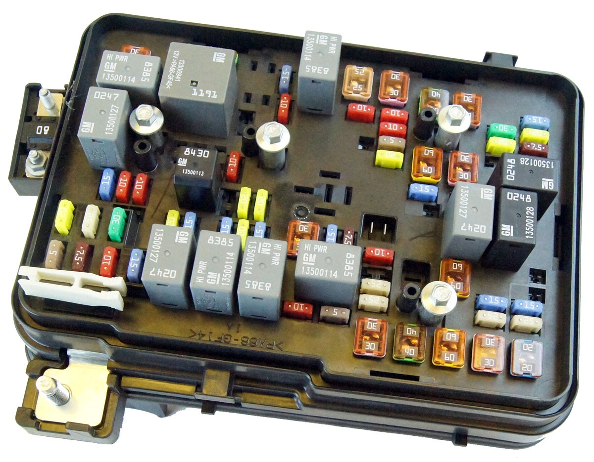 Gmc Fuse Box Wiring Library 2009 Mini Cooper Location Gm 22865685 2011 2012 Terrain Equinox 24l Engine Compartment Block