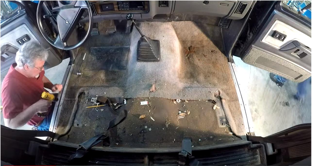 Rubber Truck Flooring Molded Vinyl Flooring For Trucks
